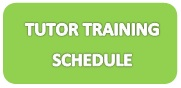 Tutor Training Schedule