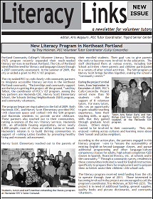 Literacy Links Frontpage